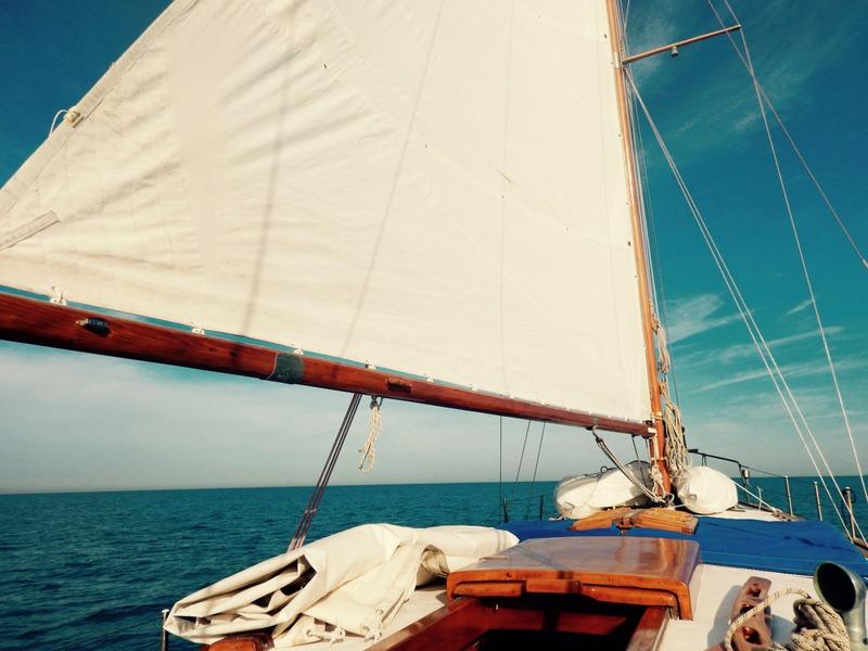 Crociere giornaliere barca a vela d'epoca Isola d'Elba